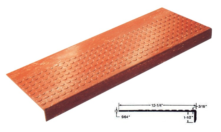 Lo-Disc Design Rubber Stair Treads