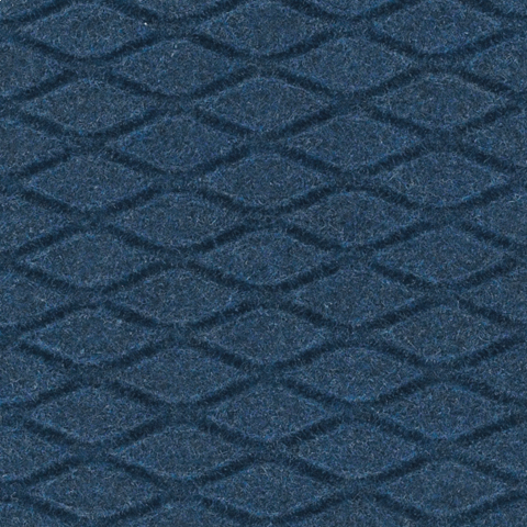 Hog Heaven Fashion Anti-Fatigue Mat -Cobalt Blue