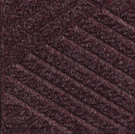Waterhog Eco Premier Tiles -Maroon