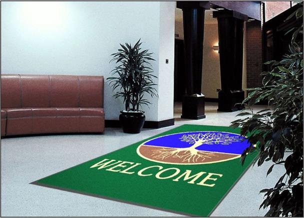 Message / Slogan Mats -#800 Welcome Tree