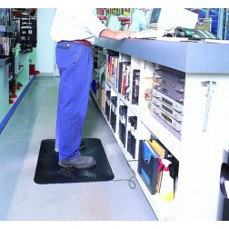 Conductive Diamond Deck Plate Anti-Fatigue Mat