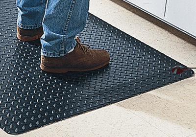 Conductive Diamond Plate Vinyl Runner Matting