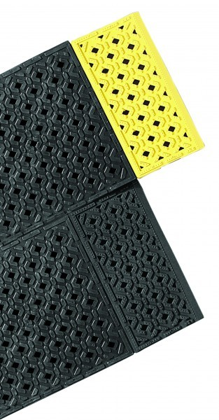 Cushion-Lok Mats -with Black & Yellow Edging