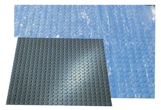 Lo-Disc Design Rubber Tile