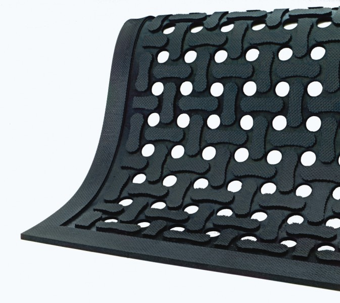 Comfort Flow Anti-Fatigue Mats -Black