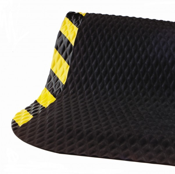 Hog Heaven Anti-Fatigue Mat -Yellow Borders