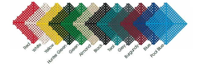 Dri-Dek Interlocking Tiles -Colors