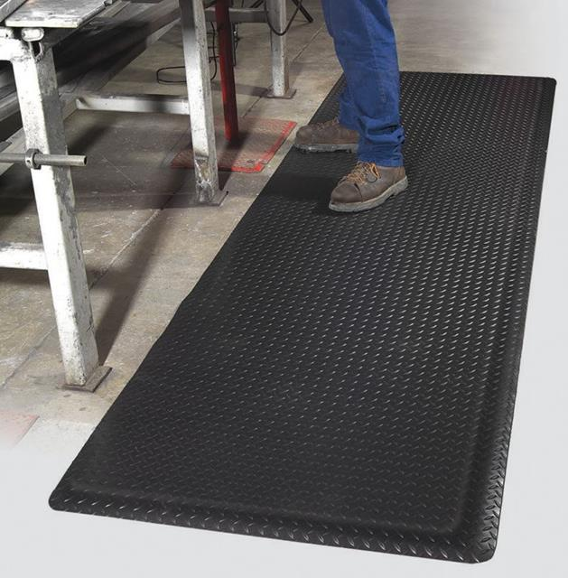 Workers Delight Diamond Deck Plate Anti-Fatigue Mat