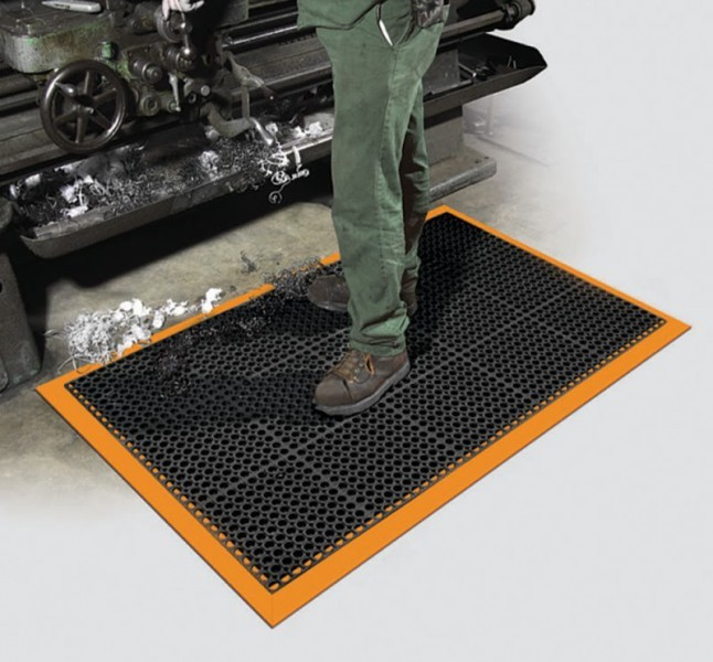 Safety Tru-Tread Rubber Mats
